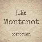 Julie Montenot, correctrice freelance